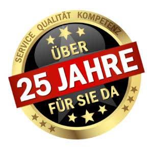 Steuererklärung preiswert machen lassen in Pirna 25 Jahre im Bild.